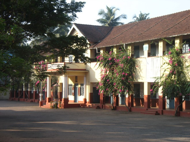 School building at Mangalore