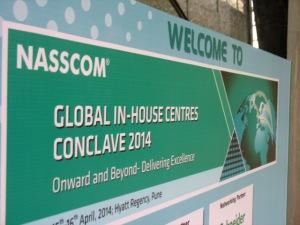 2014 NASSCOM GIC signage